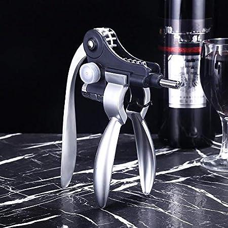 ZHJDX Herramienta de vino del abrelatas lindo conejo estilo creativo del sacacorchos corcho de la botella de vino del abrelatas de casquillo de cocina herramientas de la barra regalos de la aleación d