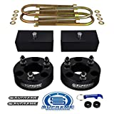 Supreme Suspensions - Full Lift Kit for 2006-2008 Dodge Ram 1500 3' Front Lift Strut Spacers + 2' Rear Lift Blocks + Round Bend U-Bolts 4WD
