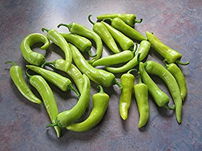 Sweet Pepper Seeds - Banana Pepper - Heirloom - Liliana's Garden