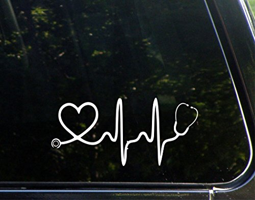 heart car window decals - 8