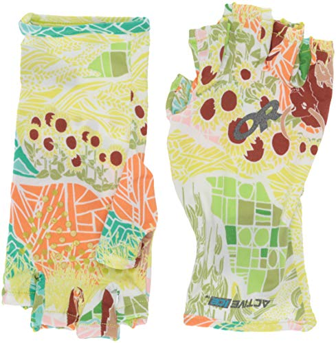 Outdoor Research ActiveIce Spectrum Sun Gloves,Printed, Wildland, Large