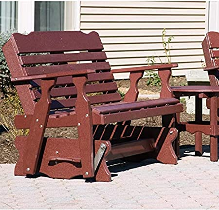 Amazon Com Leisure Lawns Amish Made Recycled Plastic 5 West