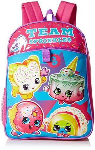 Shopkins Girls' 5 Pc Backpack Set