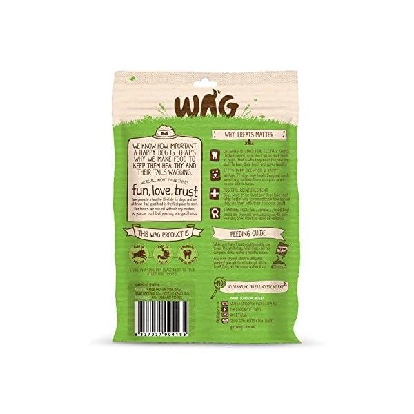 WAG Kangaroo Tendons, Grain Free Hypoallergenic Natural Australian Made Dog Treat Chew, Perfect for Training 2