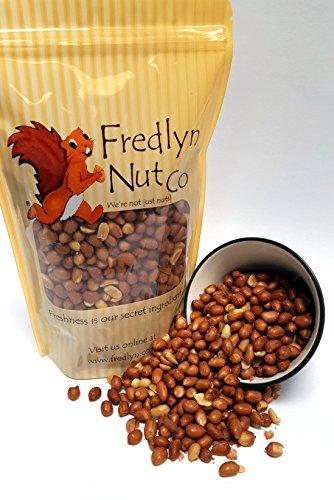 Roasted Salted Spanish Peanuts - 1lb Reclosable -