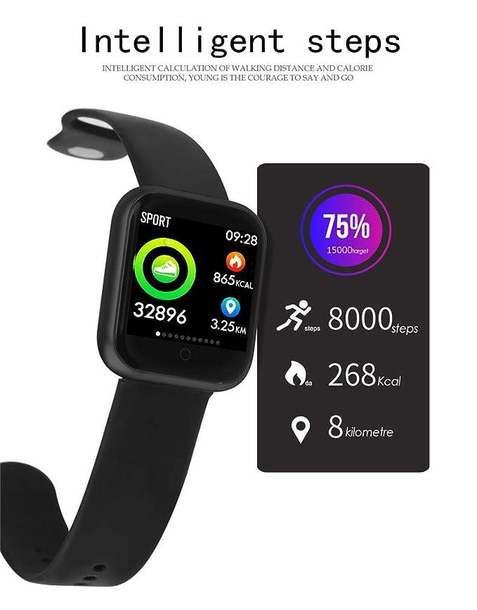 Amazon.com: P70 - Pulsera de reloj inteligente con monitor ...