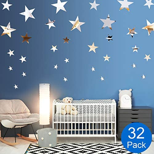 Removable Acrylic Setting Sticker Bedroom product image