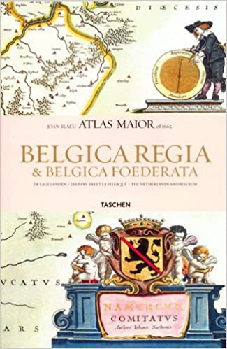 Atlas Maior of 1665: Hollandia et Belgica