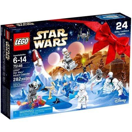 Lego Star Wars Advent Calendar 2016 Count 282