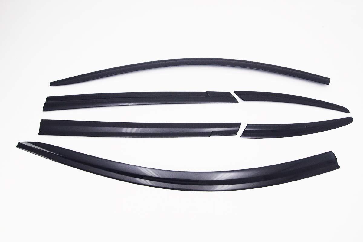 6 Piezas Juego de deflectores de Viento Autoclover Mazda CX-5 2011-2017