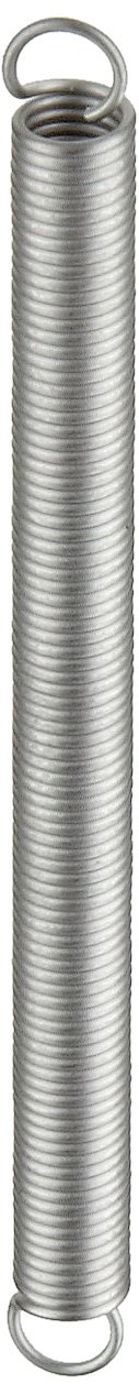 2.17 lbs Load Capacity 302 Stainless Steel 2 Free Length Inch 0.18 OD 0.022 Wire Size 2 Free Length 4.07 Extended Length E01800222000S 1 lbs//in Spring Rate 0.18 OD 0.022 Wire Size Pack of 10 4.07 Extended Length Extension Spring