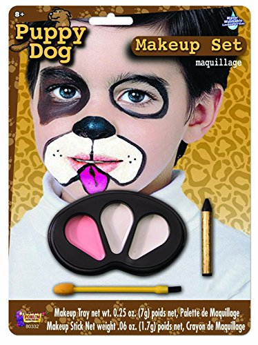 Forum Novelties Puppy Dog Makeup Kit for Children - Halloween Animal Face Paint for -