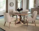 Donny Osmond Home Dining Table Florence Collection, Dark Bronze