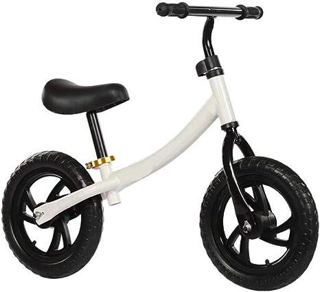 Bicicleta para niños Coche de pista de 12 pulgadas Dos rondas sin pedal Caminar entrenamiento de