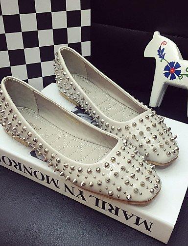 cerrado zapatos tacón uk4 Toe us6 5 PDX Flats mujer de eu37 zapatos elegante cn37 5 5 Classic black rojo la gris de 7 negro casual 8q7Tqzw1
