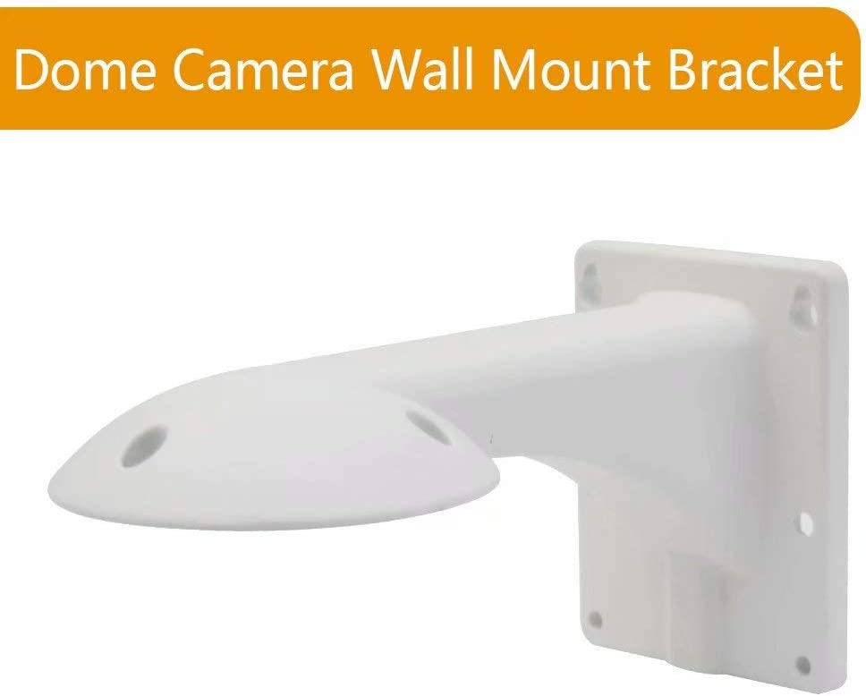 Indoor//Outdoor Full Aluminum Alloy Wall Mount Bracket for JideTech Dome PTZ Camera