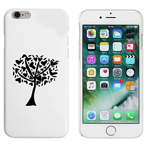 Blanc 'Arbre du Coeur' étui / housse pour iPhone 6 & 6s (MC00085369)