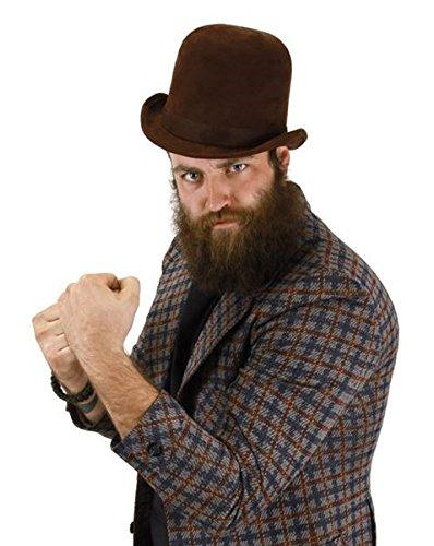 Brown Derby Hat by elope