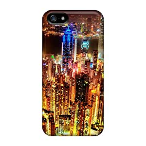 Ideal MagicSpace Case Cover For Iphone 5/5s(city), Protective Stylish Case
