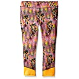 PUMA Big Girls' Active Legging Capri, Colorful Paint, 12-14 (Large)
