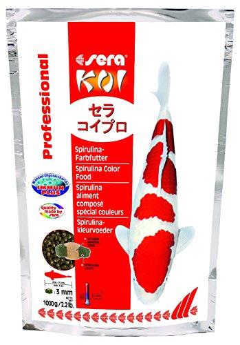 Sera Koi Professional Spirulina Color Food, 2.2 Pound Bag