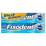 Fixodent Cream, 2.4 oz, 2 pk