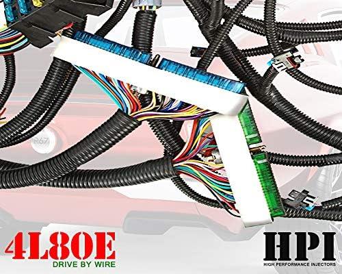 Amazon.com: HPI 03-07 LS Vortec Standalone Harness 4.8 5.3 6.0 (DRIVE BY  WIRE) (4L80E) (GREEN/BLUE PCM & MULTEC/DELPHI, FUEL INJECTOR CONNECTORS,  (message us if ev1/ev6 needed) (4L80E): AutomotiveAmazon.com