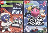Nick Jr. LIMITED EDITION 2 DVD Set The Backyardigans Mission to Mars / High Flying Adventures