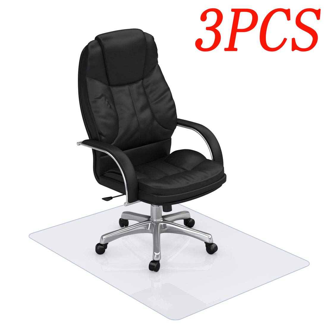 3Pcs Hardwood Chair Mat Shipped by Seller(7-15 Days), Promise to Be The Same As FBA Goods (One Piece), Do Not Accept Returns Refunds. If Have Any Questions, Contact Boyou Office Direct