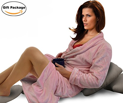 Women's Hotel Spa Robe with Pockets