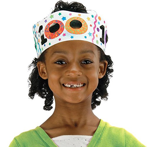 Ready-to-Decorate 100th Day Crowns - Setof 24 ()