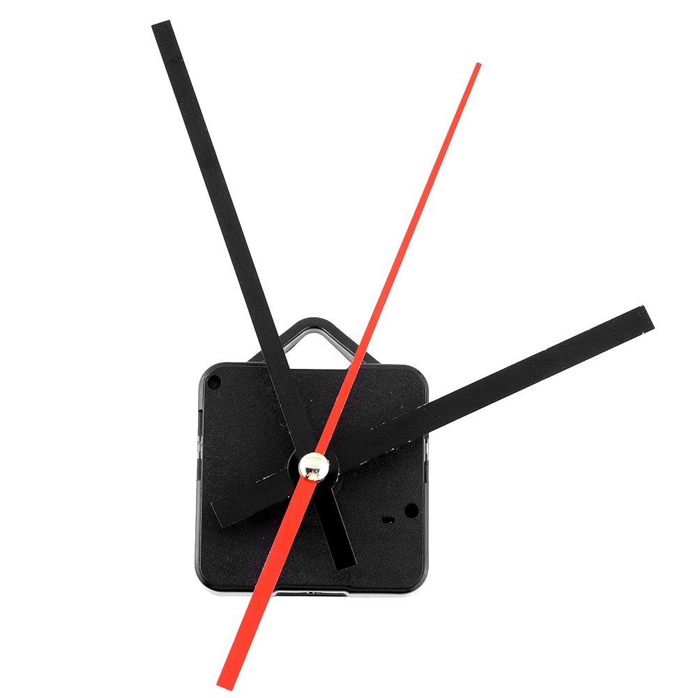 Kicode Meccanismo di movimento dell'orologio al quarzo Con il gancio fai da te riparazione parti e mani orologio DIY