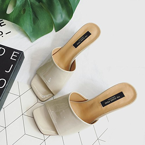 ZYUSHIZ L'été en plein air sandales pantoufles Mme Version coréenne de loisirs ,36EU,