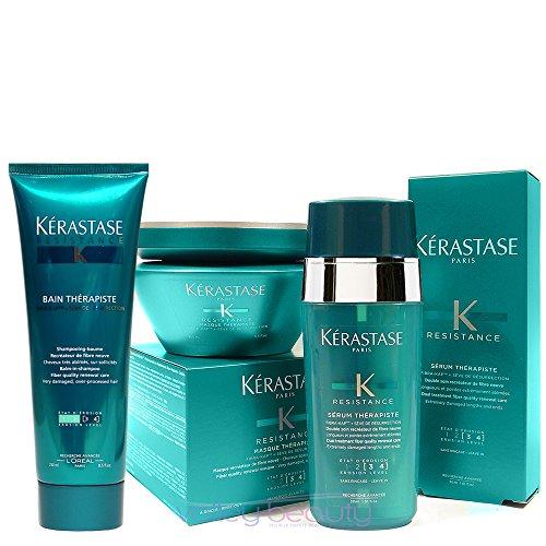 Pack Therapiste 2 : Bain 250ml + Masque 200ml + Serum 30ml Kerastase Shipping Fast by HEALTYCARE