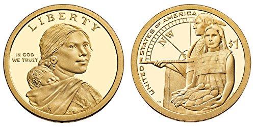 2014 S Sacagawea Native American Native Hospilality Proof Dollar PF1