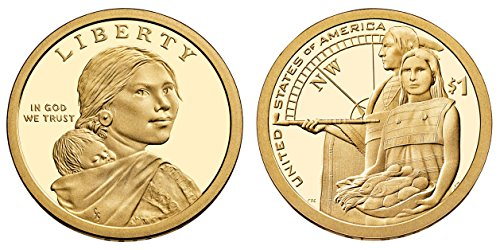 2014 S Sacagawea Native American Native Hospilality Proof Dollar PF1