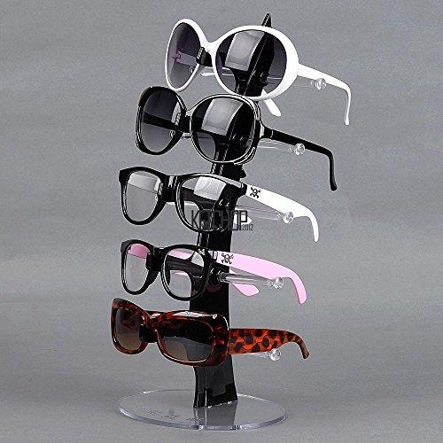 VIPASNAM-For 5 Pair of Eyeglasses Sunglasses Plastic Arcylic Retail Display Stand - Igog Sunglasses