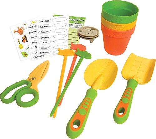 Curious Gardener 12 Piece Grower's Set for Kids by Curious Gardener