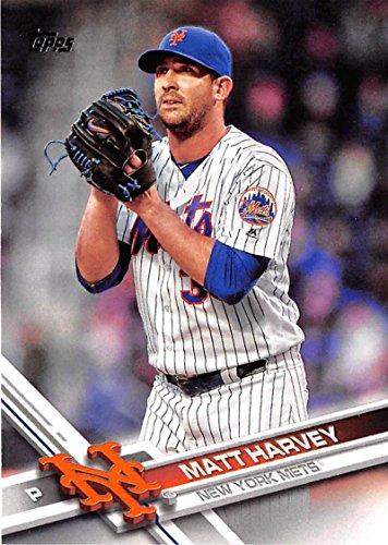 2017 Topps Baseball Series 1 #164 Matt Harvey Mets
