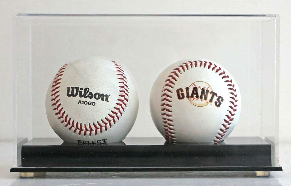 Baseball Display Case Holder Stand, Ultra Clear Pro UV