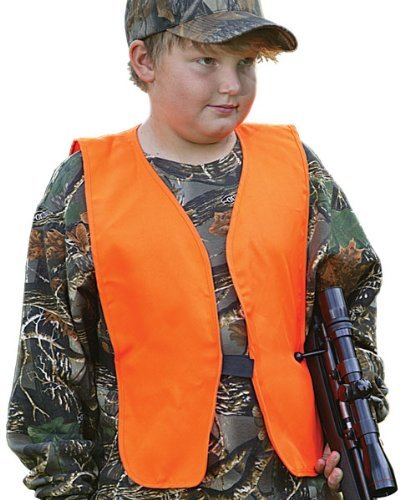 Allen Blaze Orange Hunting/Safety Vest (Blaze Orange Safety Vest)