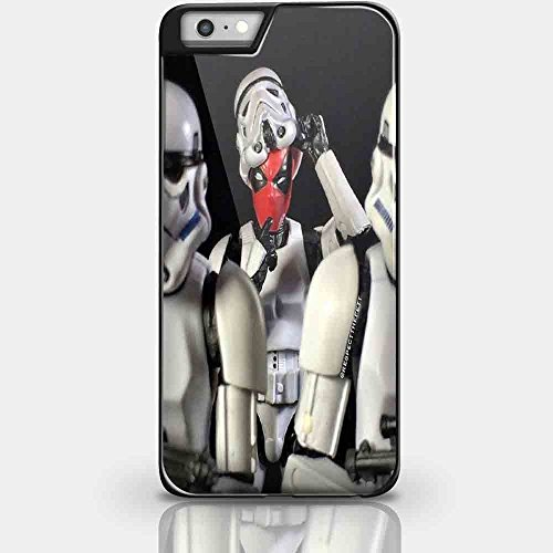 Star Wars Darth Vader BB8 Storm Trooper Yoda -Rubber Case for Apple iPhone 5, 5S, SE Made and (Iphone 4 Otterbox Armour Case)