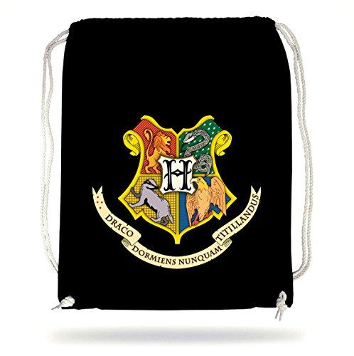 Hogwarts Shield Gymsack Black Certified Freak