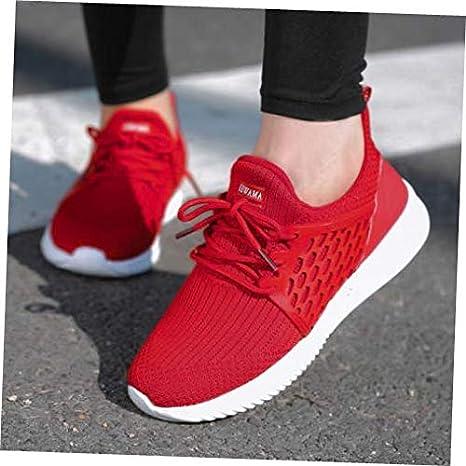 d09d2fbeacd7f7 Amazon.com  Shoes Red Size US 5.5  UK 3.5  EU 36 Walking Shoes ...