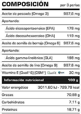 Super Omega 3-6 - 9-100 Cápsulas - Vitobest: Amazon.es: Salud y cuidado personal