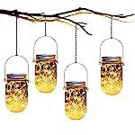 Mason Jar Solar Lanterns