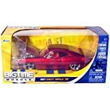 1967 Chevy Impala SS Hardtop 1:24 Scale (Red)