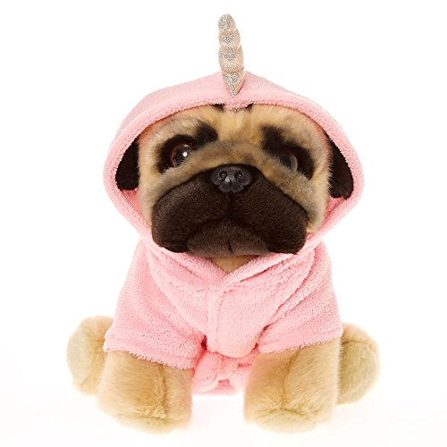 80OFF Claires Girls Doug The Pug Unicorn Medium Plush Toy