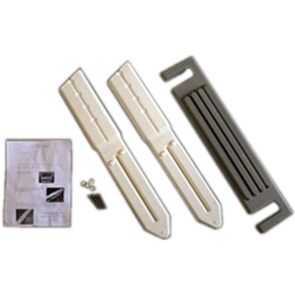 """Confer 6000EXTX 6000X Extension Kit - Warm Gray for in-Pool Ladder to Approx 66"""""""