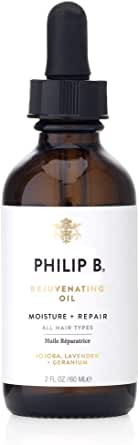 Philip B Rejuvenating Oil for Dry to Damaged Hair and Scalp, 60 ml